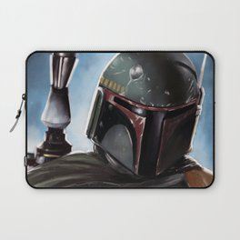 Boba Fett Art Portrait Laptop Sleeve