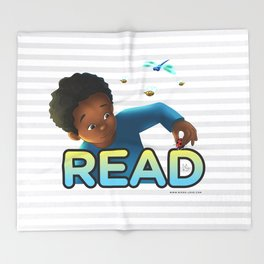 Read With Dylan! Throw Blanket