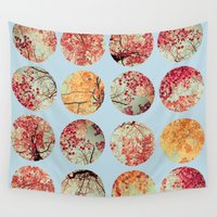 cloud Wall Tapestries featuring Cloud Inkblot by Olivia Joy StClaire