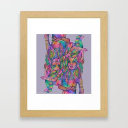 folie a deux Framed Art Print