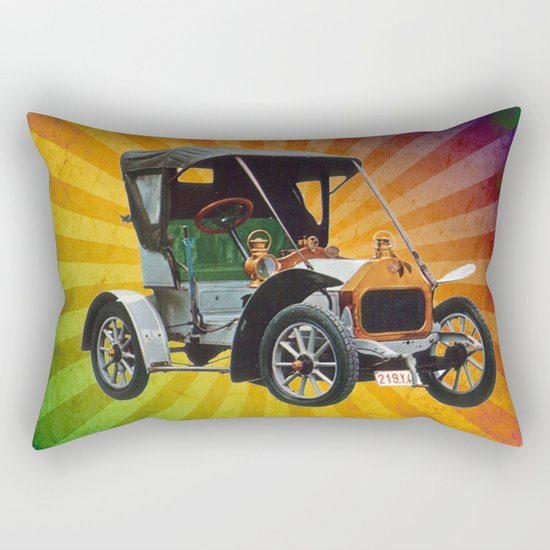 Vintage Car 05 Rectangular Pillow