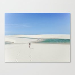 Lagoa Verde Canvas Print