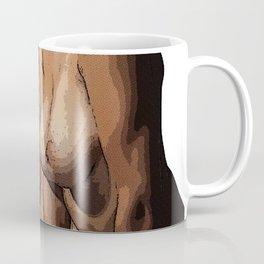 Two Nude Women Half Tone Coffee Mug