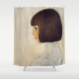 Gustav Klimt - Portrait of Helene Klimt Shower Curtain