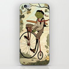 Morning Ride iPhone Skin