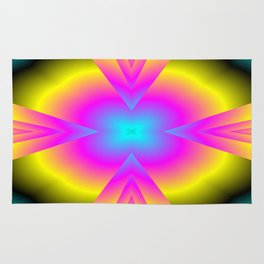spectral colors Rug
