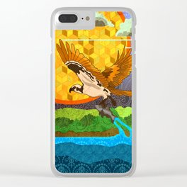 Osprey River Hunt Clear iPhone Case