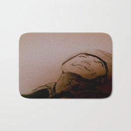 Jack Nicholson Graphite Original Portrait Bath Mat