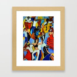 SALSA SAUVAGE Framed Art Print