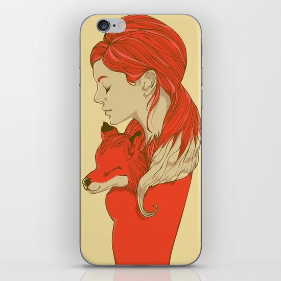 Lady Fox iPhone & iPod Skin