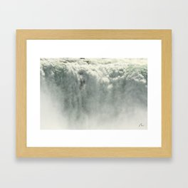 SHOWER ? Framed Art Print