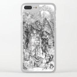 carré mystique Clear iPhone Case