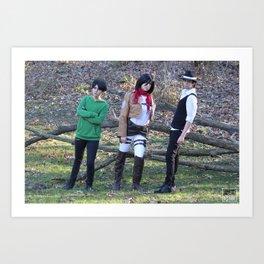 20151122 Trio Art Print