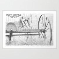 Old Ways Art Print
