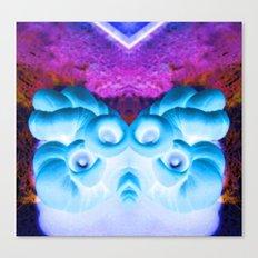 Sea Creature #1: Deep Sea Bioluminescence  Canvas Print