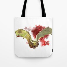 Bat Flight Tote Bag