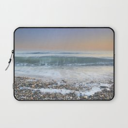 """Looking at the waves III"" Sea dreams Laptop Sleeve"