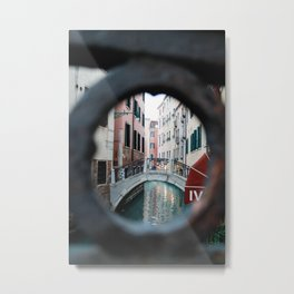 Peepthrough Metal Print