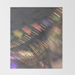 Lights and Pennants Throw Blanket