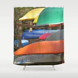 Pointe Kayaks 14 Shower Curtain