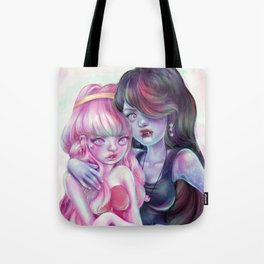 I'm gonna drink the red from your pretty pink face. Tote Bag