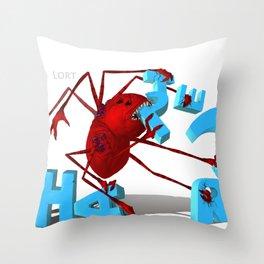 Lort Eating Chapter 3 Throw Pillow