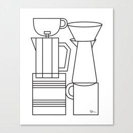 COFFEE. Canvas Print