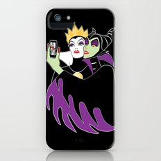 Grimhilde & Maleficent Selfie iPhone (5, 5s) Slim Case