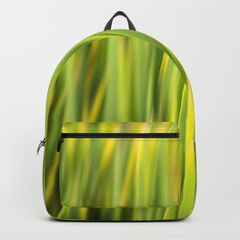 Green Nature Abstract Backpack