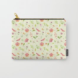 Floral summer Carry-All Pouch