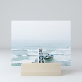 View off the Coast of Miraflores, Lima, Peru Mini Art Print
