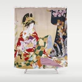 Haruyo Morita Adesugata Shower Curtain
