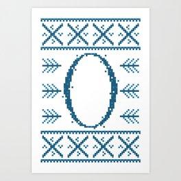Letter O Art Print