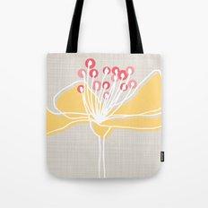 Cherry Blossom: Stone Tote Bag