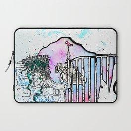Rainbow road Laptop Sleeve