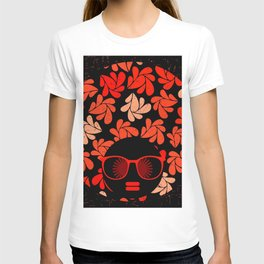 Afro Diva : Coral Red T-shirt