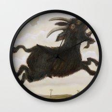 Ave Satani Wall Clock