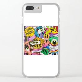 K_Komic_Kidd original (stay weird) Classic Clear iPhone Case