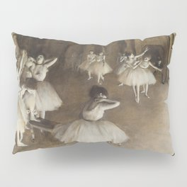 Ballet Rehearsal on Stage Pillow Sham