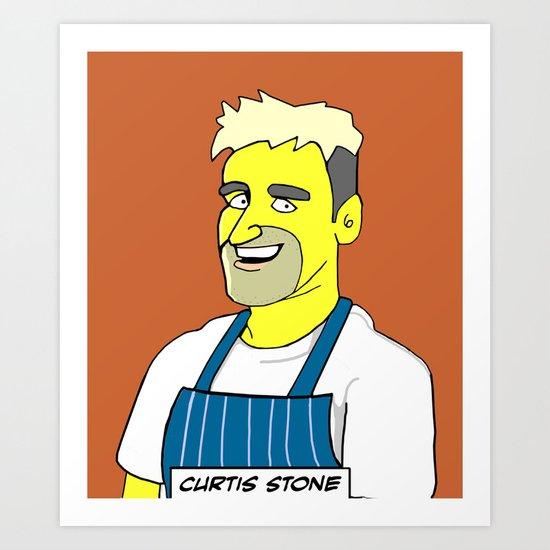 MasterChef Australia - Curtis Stone Art Print