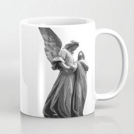 Angel Statue Coffee Mug