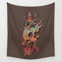 et Wall Tapestries featuring Mors et Natura by Norman Duenas