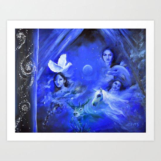 Dreamworld Art Print