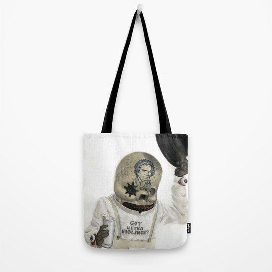 Clockwork Calavera Tote Bag