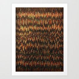 Chile pattern Art Print