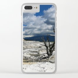 Minerva Spring and Terrace Clear iPhone Case