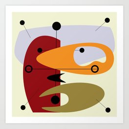 Beat Generation Art Print