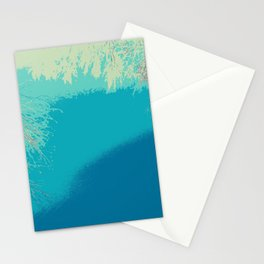 Blue fall Stationery Cards