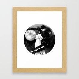 planet hunter Framed Art Print