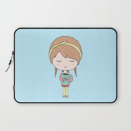 Me In The Morning Laptop Sleeve